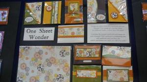 One sheet wonder by Chris